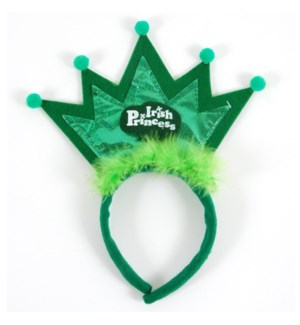 ST. PAT #SP2301 IRISH PRINCESS HEADBAND