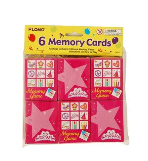 CA619 MEMORY PUZZLE CARDS, B'DAY GIRL