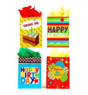 GIFT BAG #BB625E BIRTHDAY/ASST