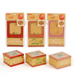 CH-MAS #KFXO2829 KRAFT BOXES