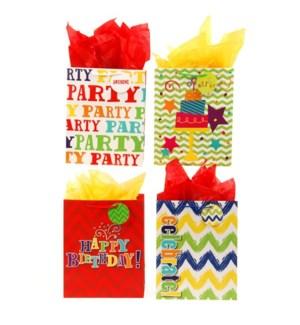 GIFT BAG #BB645U BIRTHDAY/ASST