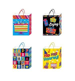 GIFT BAG #BB646L BIRTHDAY/ASST