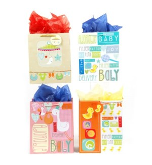 GIFT BAG #BY91U BABY SHOWER/ASST