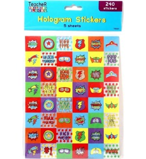 TB221 HOLOGRAM STICKERS