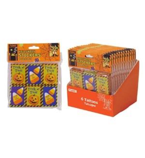 HW #HW606D BOX OF 5 STICKERS