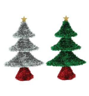 CH-MAS #XO2992 TINSEL TREE W/STAR