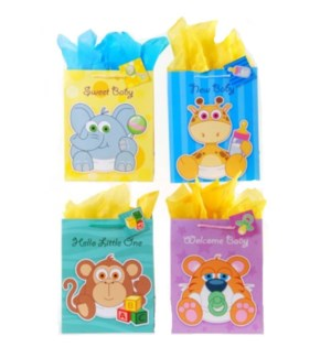 GIFT BAG #BY92L BABY SHOWER, ASST