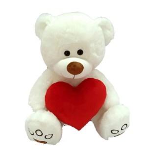 V #SA1931 BEAR HOLDING A HEART