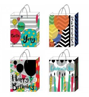 GIFT BAG #BB660E BIRTHDAY/ASST