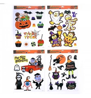 HW #HW931 REMOVABLE CLINGS ASSORTMENTS