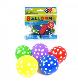 BALLOON #BLS105 PARTY DOTS