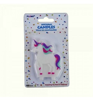 PTC1827 UNICORN CANDLES