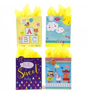 GIFT BAG #BY96E BABY SHOWER, ASST