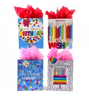 GIFT BAG #BB675SG BIRTHDAY/ASST