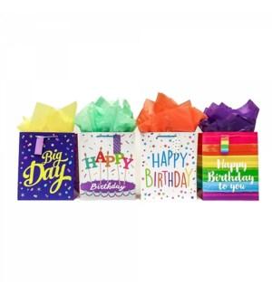 GIFT BAG #BB685SG BIRTHDAY, ASST