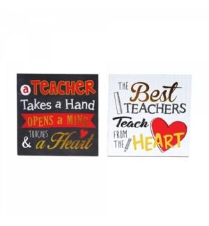 TH232 TEACHER APPRECIATION TABLE PLAGUE
