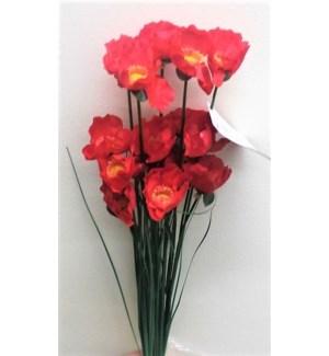 FLOWERS #FLB377 POPPY BUSHES
