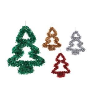 CH-MAS #XO2331 TINSEL TREE/ASST