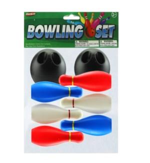 TOY K #21742 BOWLING SET W/6 PIN & 2BALL