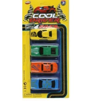 TOY K #24356 DIE CAST MINI CAR ON CA