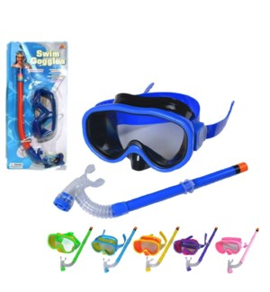TOY K #38143 GOGGLES & SNORKLE SET