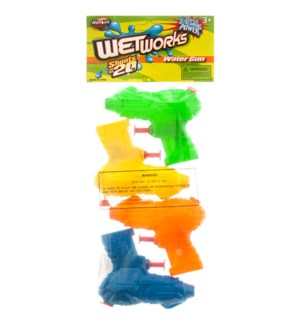 TOY K #41940 4PC WATER GUN
