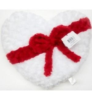 V #75978 HEART CUSHION W/BOW