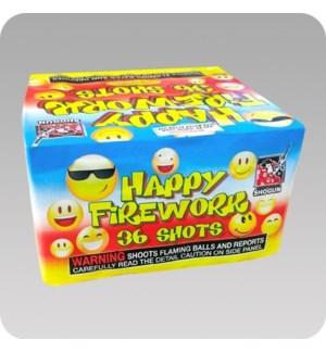 FW #SSM7702 LARGE HAPPY FIREWORK