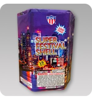 FW #AFW0164 SUPER FESTIVAL SHELL