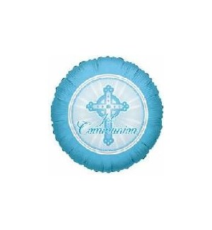 BALLOON #17696 COMMUNION BLUE