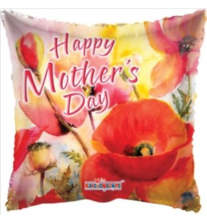 MOM DAY BALLOON #84156-18 HAPPY MOTHERS