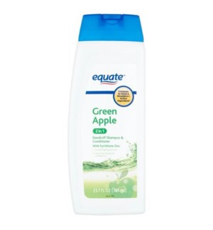 EQUATE #06873 GREEN APPLE 2IN1