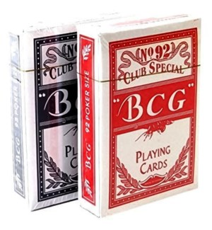BCG PLAYING CARDS #9608  NO:92