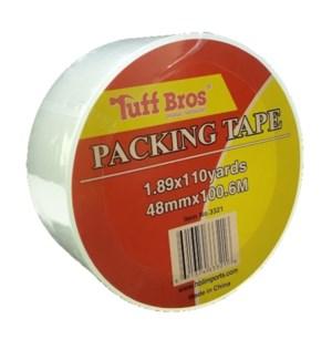 TUFF BROS TAPE #3321 CLEAR SEALING
