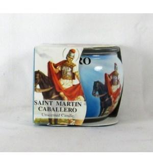 GLOBE #60240 SAINT MARTIN, JAR CANDLE