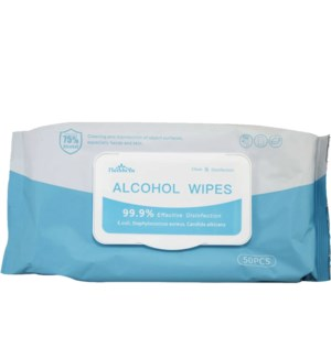 ALCOHOL WIPES W/75% ALCOHOL