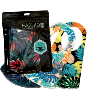FASHION MASK #41 ICE SILK PRINTED
