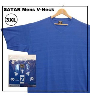 V NECK SHIRTS - ROYAL BLUE