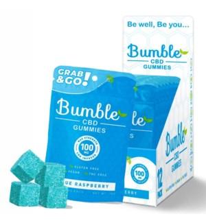 BUMBLE BLUE RASPBERRY GUMMIES