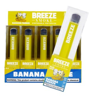 BREEZE BANANA FREEZE DISPOSABLE POD DEVICE