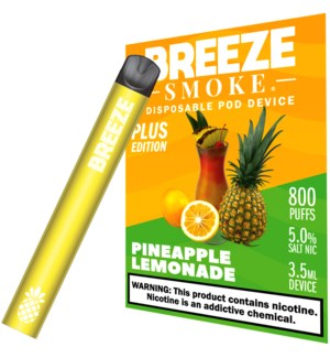 BREEZE PINEAPPLE LEMONADE DISPOSABLE DEVICE