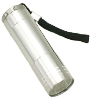 FLASHLIGHT #FL3078T SILVER