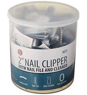 FINGER NAIL CLIPPER #8097 IN A JAR