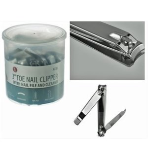 TOE NAIL CLIPPERS #N236 IN A JAR