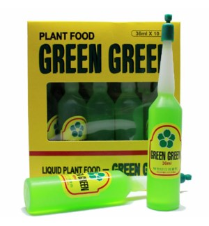 GREEN GREEN PLANT FOOD 36ML