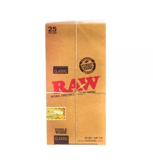 RAW #17424 SINGLE WIDE ROLLING PAPER
