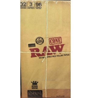 RAW #17458 CONE ROLLING PAPER