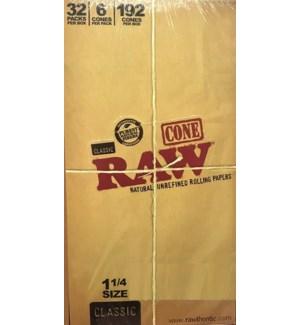 RAW #17712 UNREFIND CONE ROLLING PAPER