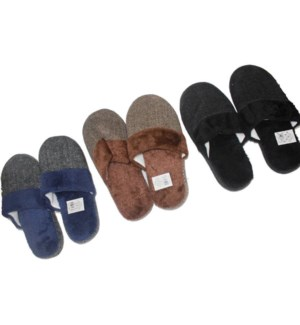 MEN'S WINTER SLIPPERS #SL416 ASST SIZE