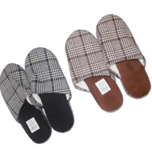 MEN'S WINTER SLIPPERS #SL324 ASST SIZE